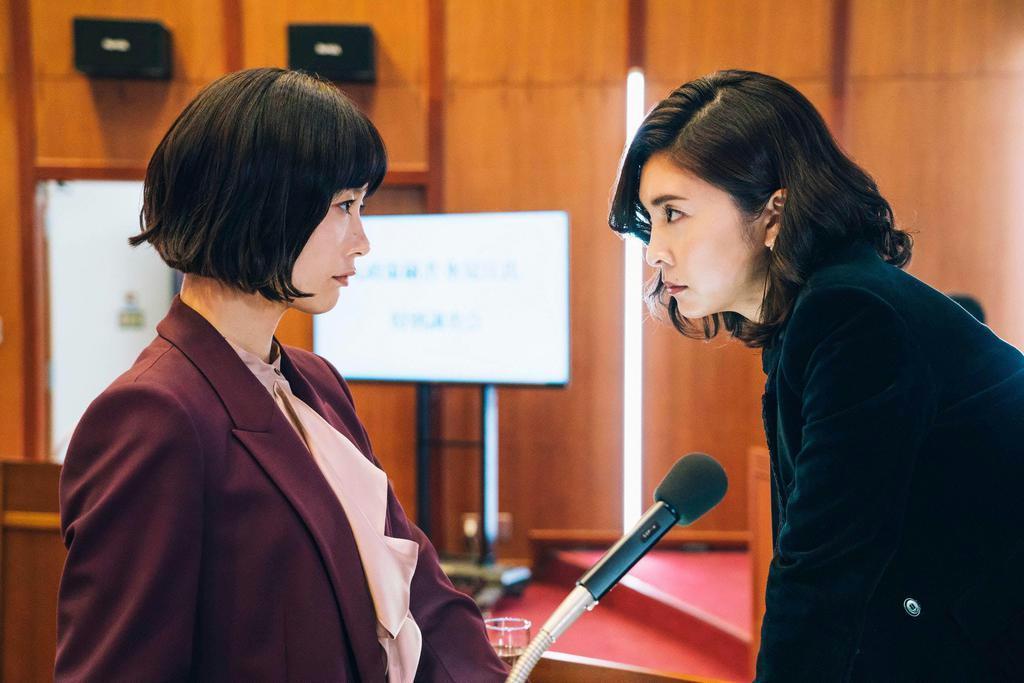 14日に最終回を迎える「スキャンダル専門弁護士 QUEEN」。1~3月のドラマには弁護士ものが多く並んだ(提供写真)