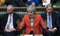 EU離脱案、英議会で再び大差否決 離脱延期の可能性