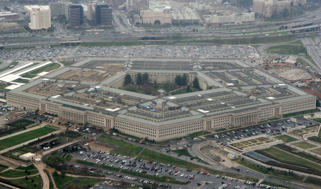 ワシントンの米国防総省(AP)