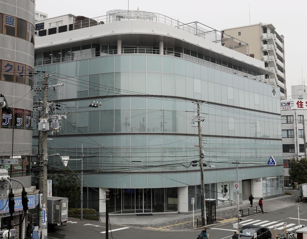 伊藤忠商事による株式公開買い付け(TOB)に揺れるデサントの本社(大阪市)