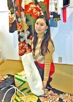 着物姿で所作美人 日本舞踊家、洲本でイベント