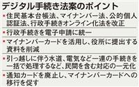 菅長官「利便性向上と手続き負担軽減図る」 デジタル手続き法案
