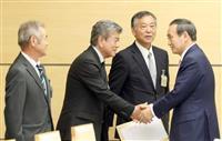 菅長官、辺野古住民代表と会談「補償実現へ対応」