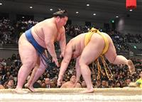 逸ノ城6連勝、平幕唯一の勝ちっ放し「身体が動く」