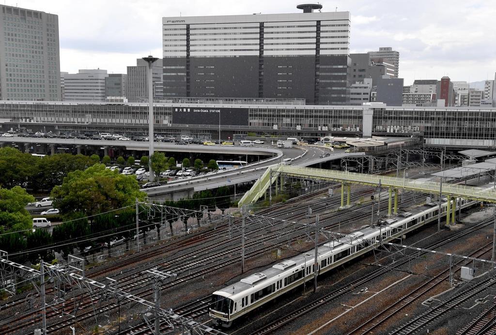 新規路線の乗り入れが相次ぐJR新大阪駅。周辺ではホテル開発などが進んでいる(奥清博撮影)