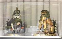 ご即位30年を記念して京都御所で纛旛や獅子狛犬、調度品公開