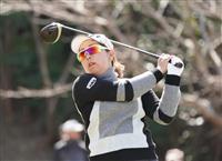 大城、ペが首位に並ぶ 女子ゴルフ第2日