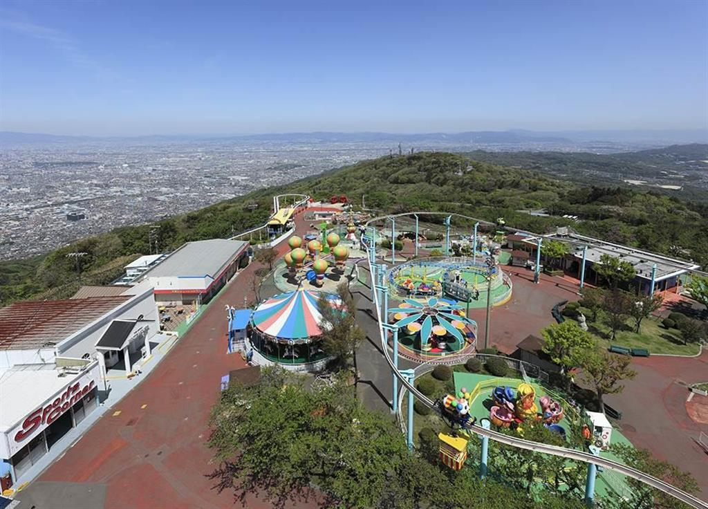 開園から90周年を迎える生駒山上遊園地(近畿日本鉄道提供)