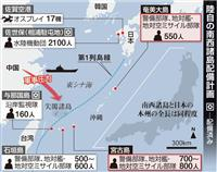 奄美、宮古…南西地域で陸自駐屯地が続々と拡充、中国脅威に対抗