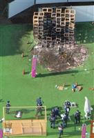 神宮外苑イベント火災で大学生ら6人書類送検 業過致死傷容疑など