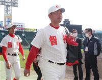 智弁和歌山の元阪神・中谷監督「選手が目立つように」 甲子園練習スタート
