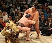 白鵬全勝守る 鶴竜、高安ら勝ち越し 大相撲春場所