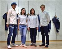 「福山デニム」知名度向上へ 新製品第2弾を発表 初の女性用モデルも