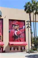 エンゼルス本拠地に大谷の巨大写真 日本選手で初登場