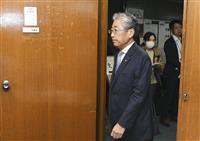 JOC竹田会長、小池都知事に退任伝達