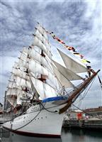 横浜の重文「帆船日本丸」船体改修が完了 21日に注水式