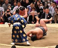 白鵬が横綱の意地 貴景勝下し全勝キープ 大相撲春場所