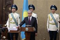 カザフ新大統領が就任、首都名も変更