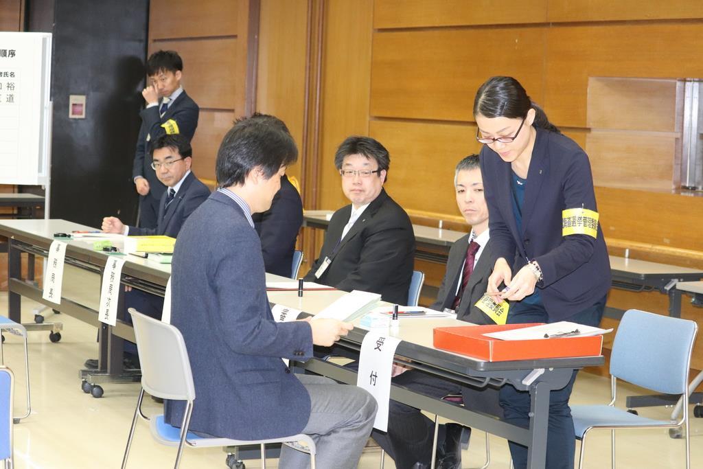 北海道知事選告示 全国唯一の与野党対決知事選に