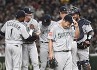 MLB開幕第2戦速報(5)イチローの好捕に大歓声 菊池は勝利投手の権利目前の五回途中で…
