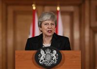 メイ英首相「延期は極めて遺憾」 離脱協定案承認を議会に再要請 「6月末以降の延期、考え…