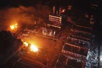 中国の化学工場で爆発、36人死傷 窓ガラス吹き飛ぶ