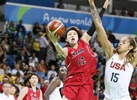 女子バスケの吉田が引退 リオ五輪で日本代表主将