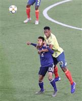サッカー日本-コロンビア速報(1) 初選出の鈴木武蔵1トップ先発
