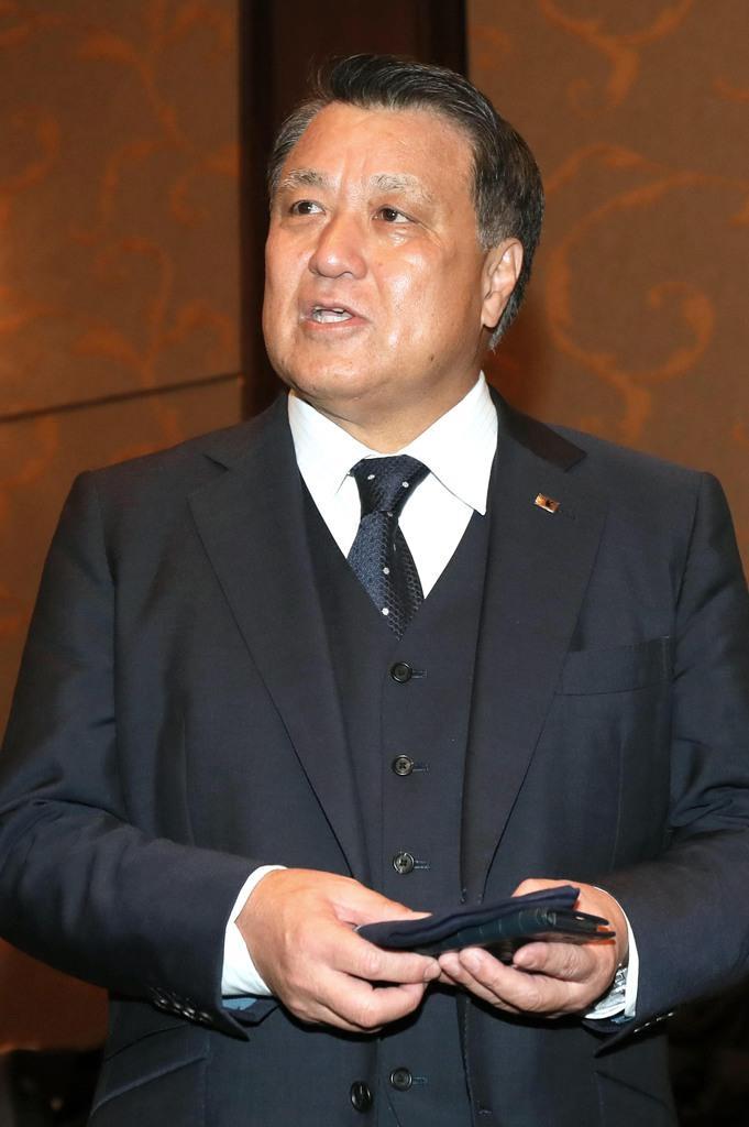 田嶋幸三・日本サッカー協会会長