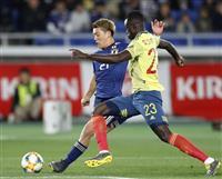 サッカー日本-コロンビア速報(3) 前半30分を終えて0-0