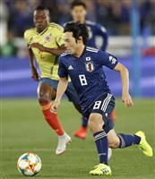 サッカー日本-コロンビア速報(4) 0-0で前半終了