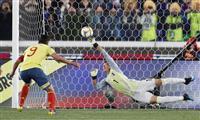 サッカー日本-コロンビア速報(6) 後半19分にファルカオがPKで先制