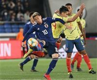 サッカー日本-コロンビア速報(7) 香川真司、乾貴士、小林祐希を投入