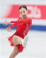 4回転成功で「銀」 世界選手権女子で初、カザフのトゥルシンバエワ