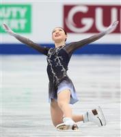 紀平梨花、伝家の宝刀決め大歓声 メダル届かず来季へ課題