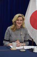 米調整官、世界の女性活躍支援で日本に協力呼びかけ