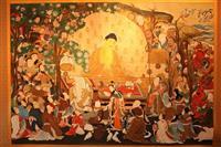 【ミュージアム】安達原玄 仏画美術館(北杜) 曼荼羅で心清める