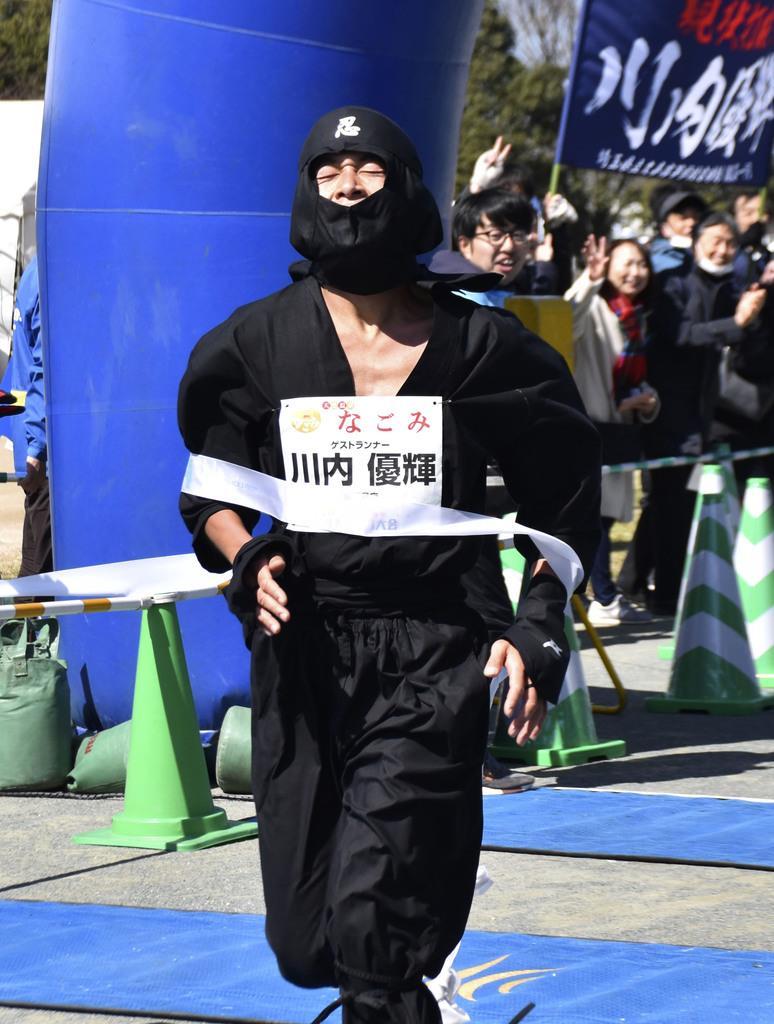 川内優輝選手、公務員ラストラン 地元埼玉で