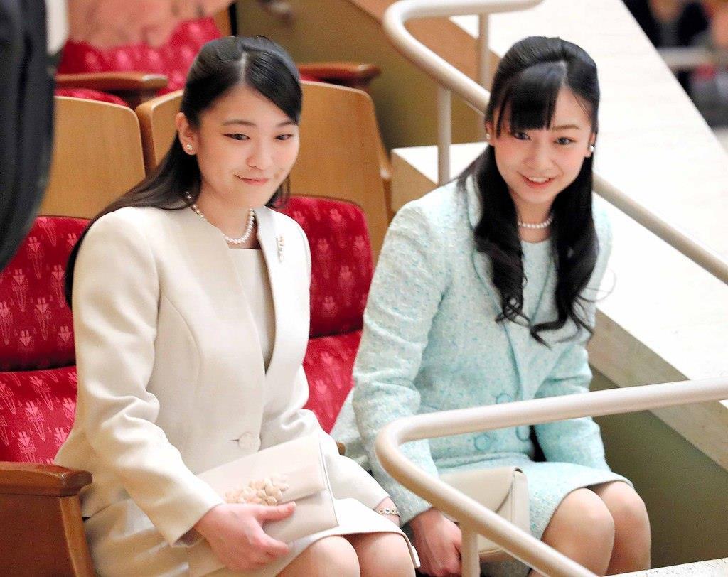 眞子さまと佳子さま、少年少女オーケストラご鑑賞