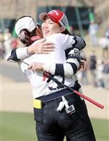 上田が逆転で2季ぶりV 女子ゴルフ最終日