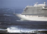 ノルウェー客船航行不能に 1370人の救助活動