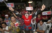 タイ総選挙、タクシン派が第一党の勢いも過半数困難