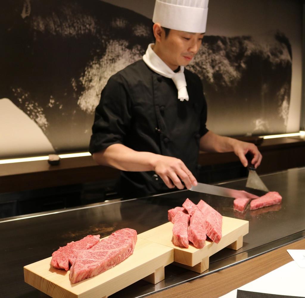 神戸市中央区の新神戸オリエンタルアベニューにオープンする「神戸ビーフ館」=神戸市中央区