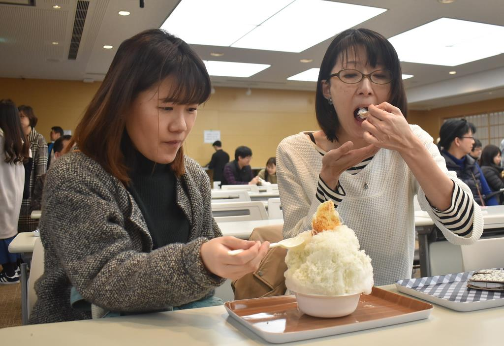 全国のかき氷食べ比べ 奈良で「ひむろしらゆき祭」