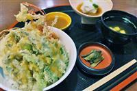 【甲信越うまいもん巡り】諏訪「レストラン割烹 いずみ屋」 信州諏訪 みそ天丼