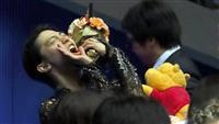 羽生、けがで欠場 4月のフィギュア国別対抗戦