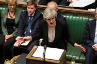 閣僚らメイ首相降ろし画策 EU離脱迷走で英紙報道
