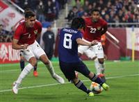 平成最後の代表戦、森保Jが白星で締め サッカー、ボリビアに1-0