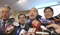 中国、台湾・高雄市長を破格厚遇 総統選への思惑も