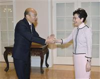 中国、台湾・国民党の韓市長を歓待 総統選へ世論工作、差別化